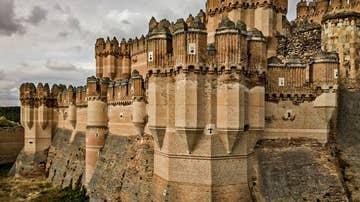 Castillo de Coca. Segovia