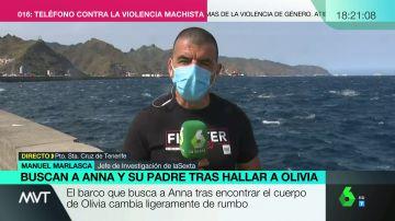 """Manuel Marlasca: """"La hipótesis es que Gimeno se lanzó al agua lastrado con un cinturón de buceo"""""""