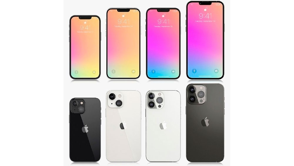 Los diferentes iPhone 13