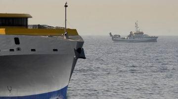 El buque Ángeles Alvariño continúa con el rastreo