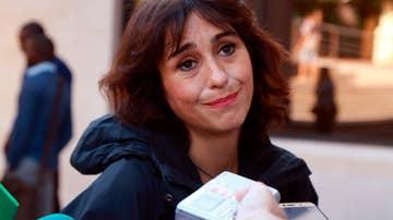 Juana Rivas antes de una de sus comparecencias ante el juzgado de lo Penal 1 de Granada