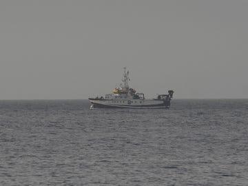 El buque oceanográfico Ángeles Alvariño
