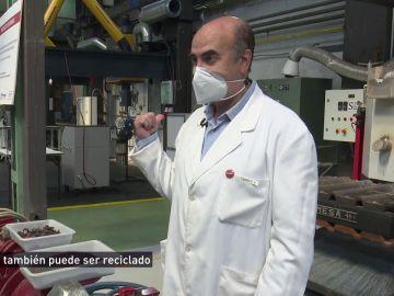 Baterías de Litio trituradas y disueltas en un reactor: así se recicla este preciado mineral