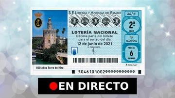 Lotería Nacional, hoy | Comprobar sorteo del sábado 12 de junio, en directo