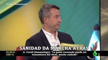 César Carballo responde a Iñaki López en laSexta Noche