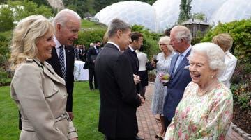 Isabel II recibe al presidente de EEUU, Joe Biden.