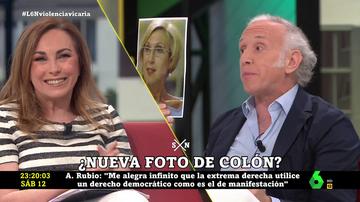 Encontronazo de Eduardo Inda y Angélica Rubio por Rosa Díez