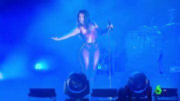 Nathy Peluso en un concierto en Madrid