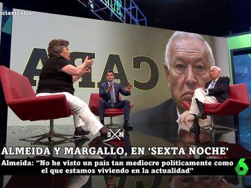 Cristina Almeida, García Margallo e Iñaki López