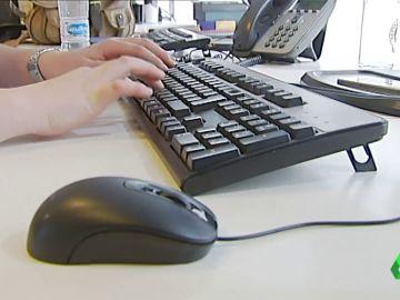 Imagen de archivo de un ordenador