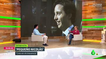 """Cristina Pardo pone contra las cuerdas al pequeño Nicolás: """"Uno no puede sacar pecho de eso"""""""