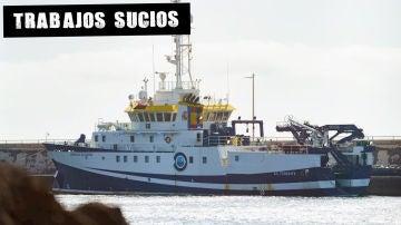 Buque Ángeles Alvariño en Tenerife