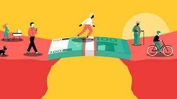 Imagen representativa del proyecto desarrollado en Alemania sobre la renta básica