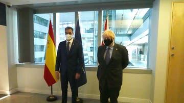 Sánchez y Johnson se reúnen en la cumbre de la OTAN en Bruselas