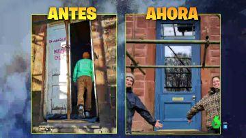 La increíble transformación de una casa abandonada de 11.000 euros en una lujosa mansión