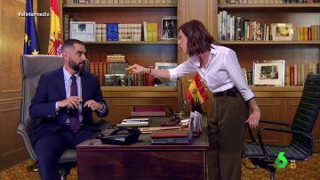 """La acalorada discusión entre Ayuso y el rey Felipe VI que acaba con el monarca en Abu Dhabi: """"¡Soy la reina de España!"""""""
