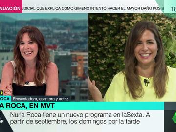 """La broma de Nuria Roca a Mamen Mendizábal ante su regreso a laSexta: """"¡No sabes la que has liado!"""""""
