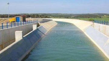 Canal de agua en el que ocurrió el suceso