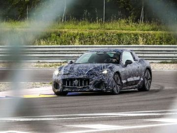 Maserati adelanta las primeras imágenes del nuevo GranTurismo