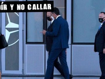 Paseíllo de Sánchez y Biden en la cumbre la OTAN