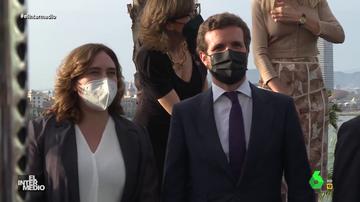 Vídeo manipulado - La verdadera conversación en catalán de Pablo Casado a Ada Colau