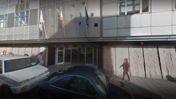 Exteriores del Juzgado de Violencia sobre la Mujer número 2 de Las Palmas de Gran Canaria