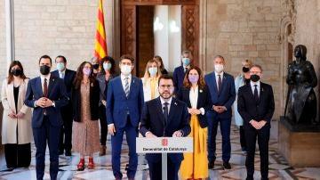 """Aragonès llama al diálogo tras la aprobación de los indultos: """"Es hora de trabajar para encontrar una salida acordada al conflicto"""""""