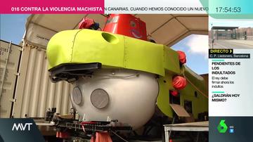 Así es por dentro el submarino Piscis VI, la principal alternativa al Ángeles Alvariño para seguir la búsqueda de Anna y Tomás Gimeno