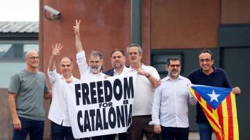 Los presos del procés han abandonado la cárcel