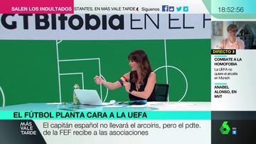 """La reivindicación de Mamen Mendizábal por el Orgullo LGTBI: """"La UEFA ha hecho un ridículo espantoso"""""""