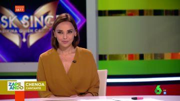"""Chenoa, del disfraz enmascarado en su visita a Mask Singer: """"Es más fuerte que Isabel Preysler y Esperanza Aguirre juntas"""""""
