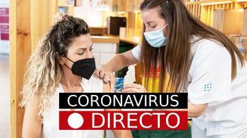 Última hora coronavirus: segunda dosis de vacuna con Pfizer o AstraZeneca en España, hoy