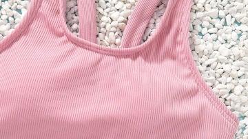 Imagen de uno de los bikinis para niñas con relleno