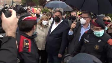 Los líderes independentistas condenados por el procés salen de prisión