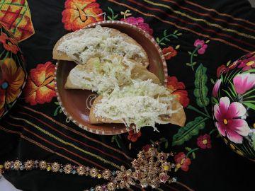Tacos. Plato típico mexicano