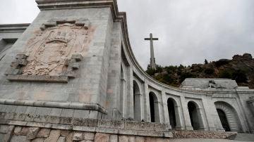 Vista del Valle de los Caídos en Madrid