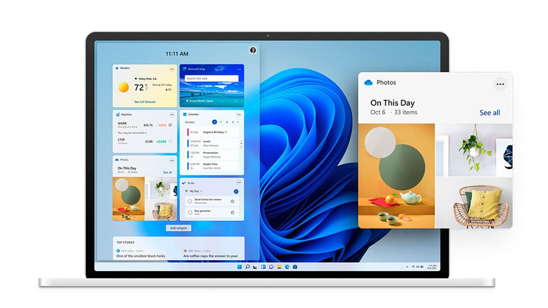 El nuevo diseño de Windows 11