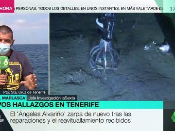 Tomás Gimeno podría haber utilizado las botellas de oxígeno halladas por el Alvariño para asegurarse de no volver a la superficie
