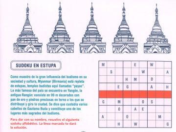 Sudoku en Estupa
