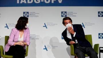 Isabel Díaz Ayuso y José María Aznar