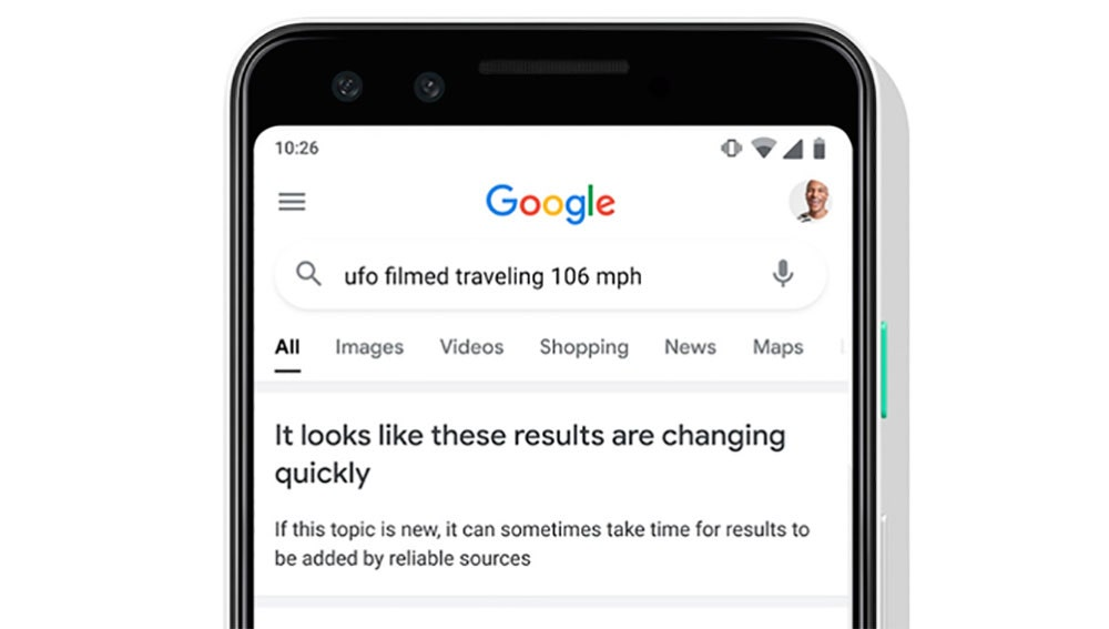 El nuevo mensaje que prepara Google