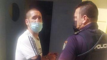Imagen de la detención de Poli Díaz