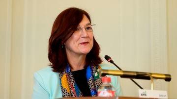 La presidenta de la Comisión Nacional de los Mercados y la Competencia, Cani Fernández
