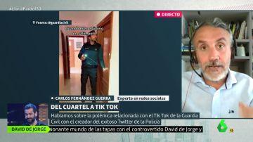 """El creador del Twitter de la Policía defiende los vídeos de Tik Tok de la Guardia Civil: """"En las redes hay muchos ofendiditos"""""""