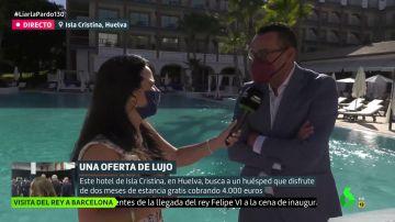José Flores, director de un hotel de Huelva de cinco estrellas