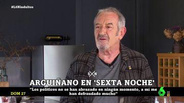 """Karlos Arguiñano, """"defraudado"""" con los políticos: """"No están para ayudarnos, están para ayudarse"""""""