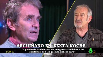 """Karlos Arguiñano elogia la labor de Fernando Simón: """"¿No se va a equivocar él? Si se equivoca todo dios"""""""