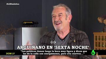 """Karlos Arguiñano analiza el adiós de Pablo Iglesias y Albert Rivera: """"Los que están son como lobos"""""""