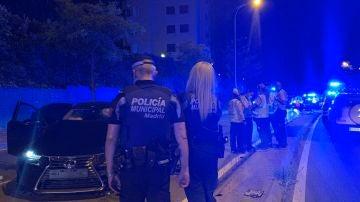 Muere un motorista de 22 años en Madrid tras chocar con un VTC
