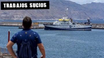 El 'Ángeles Alvariño' en Tenerife